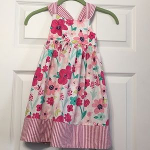 Gymboree 5T sundress pink floral